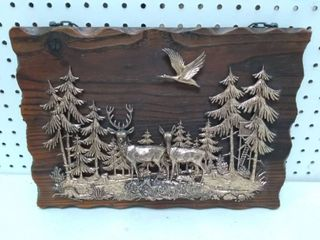 Wildlife Wall Art Scene