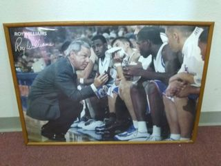 Framed Roy Williams Poster