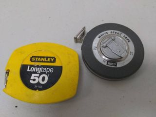 Pair of Tape Measures