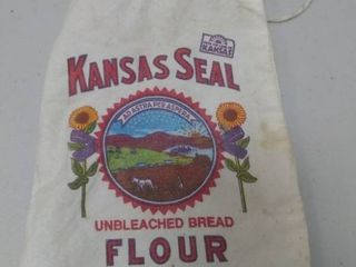 Kansas Seal Flour Bag