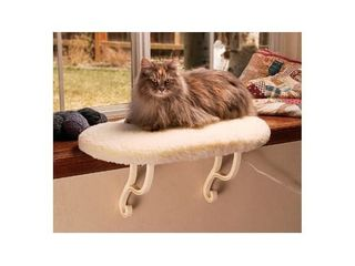 K H Pet Products Kitty Still Cat Bed  Off White