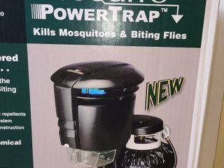 Mosquito power trap kills mosquitoes in bitting flies