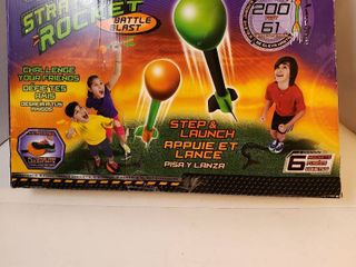 strato slam rocket battle blast step and launch