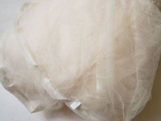 Bed netting   Canopy Off White Full  Queen Size Beds