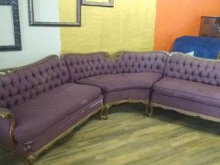 Vintage Sectional Couch