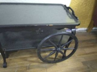 Short Cart or Table With Wheels