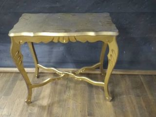Vintage Wooden End Table