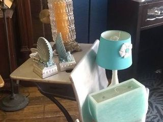 Silver and Teal Decorative set