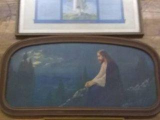 Framed Jesus Art Print