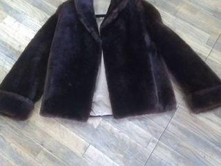 Vintage Women s Faux fur jacket winter coat