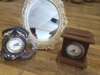 2 clocks and mirror