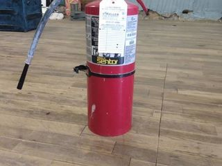 Keller Fire and Safety Fire Extinguisher