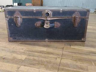Vintage black trunk