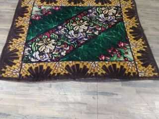 Antique carriage rug blanket