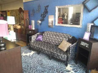 Black bedroom living room set
