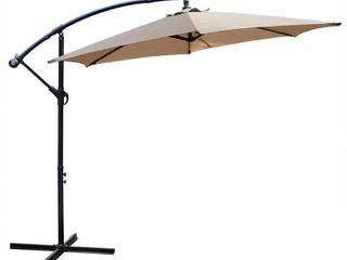 Maypex 10 Feet Offset Outdoor Patio Umbrella  Retail 101 99