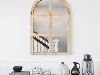The Gray Barn Pollyanna Farmhouse Arch Wall Mirror   36 H x 24 W x 1 D  Retail 116 99