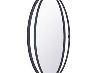 Carson Carrington Salsendi Metal Frame Hexagon Mirror- Retail:$205.99