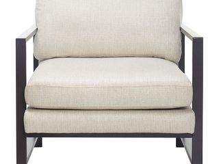 Tommy Hilfiger Russell Metal Frame Accent Chair- Retail:$267.49