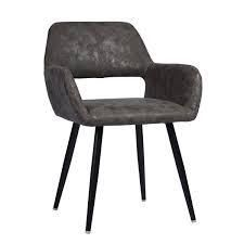 Carson Carrington Iffelna Scandinavian Side Chair  Retail 129 99 cromwell velvet grey oak legs