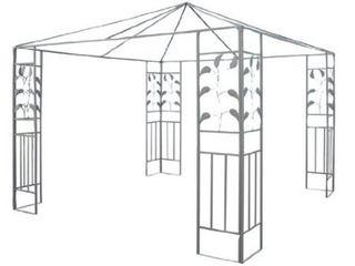 Steel Gazebo Frame leaf Design  Retail 164 49