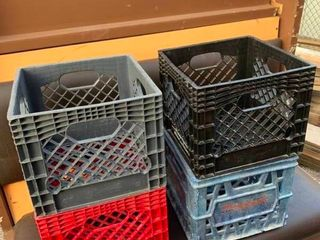 storage milk crates