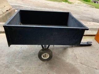 Pull behind cart