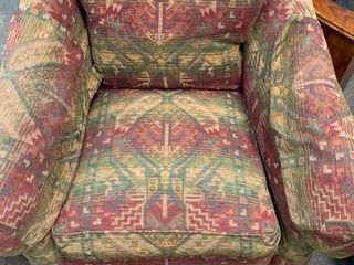 Ethan Allen upholstered living room chair