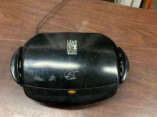George Foreman indoor grilling machine