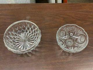 led glass decorative serving bowls