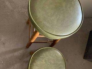 Bar stool and foot stool