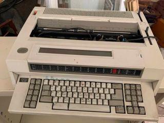 Vintage IBM typewriter