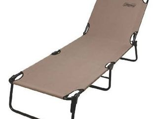 Coleman fold out cot chair