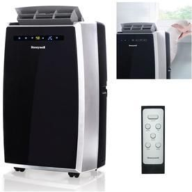 Honeywell   550 Sq  Ft  Portable Air Conditioner   Black Silver