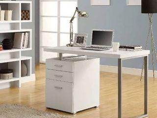 Monarch Computer Desk 48 l white left or right facing