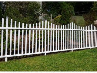 Manchester No-Dig Vinyl Fence Kit (42in x 92in) (2 Pack)