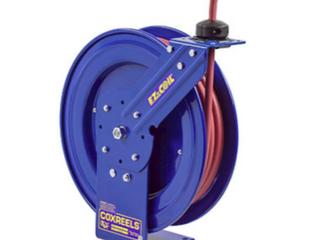 Coxreels hose wheel  Blue   16 inch   particle base