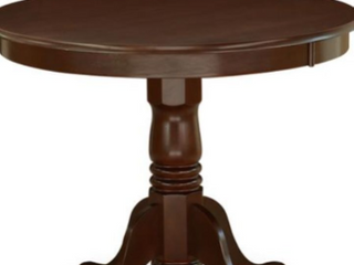 East West Furniture Jackson Counter Height Round 36  Table   Mohogany