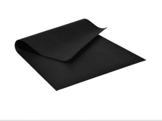 7' x 5' x 8mm Thick Yoga Workout Mat .( Black )