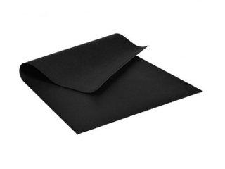 7' x 5' x 8mm Thick Workout Mat.( Black )