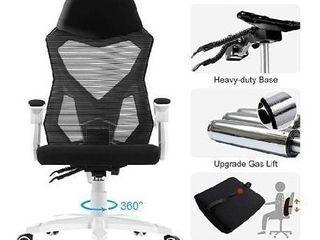 HomeFun Ergonomic office chair with lumbar support