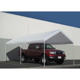 Caravan Canopy Domain 10 x 20 Foot Straight leg Instant Canopy Tent Set  White