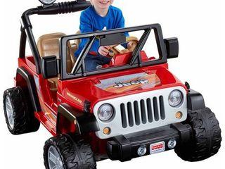 Power Wheels Jeep Wrangler   Red