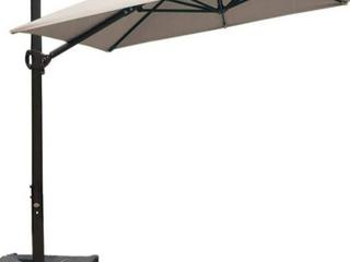 Abba Patio 9 ft Beige Umbrella    Not Inspected