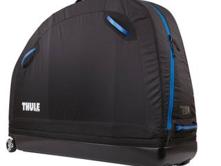 Thule Bike Transport Bag Round Trippro Black With Integrated Assembly Stand