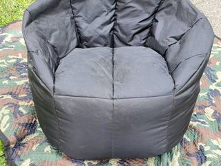 Black BIG JOE Bean Bag Chair