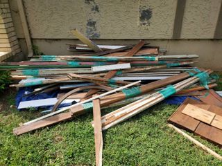Reclaimed architectural wood  Great for Crafts and projects  Use your imagination  Huge lot
