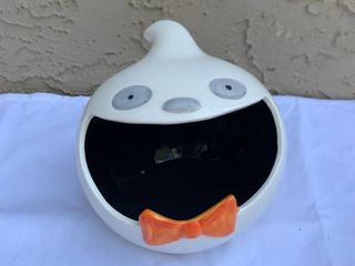 Ceramic Ghost Candy Holder location Shelf 1