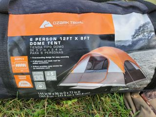Ozark Trail 6 Person Dome Tent Instant Outdoor Family Camping Hunting 12 X 8