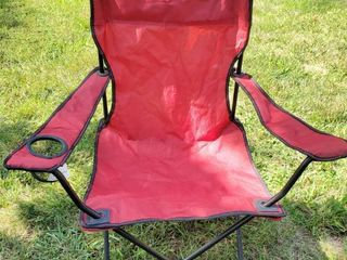 Red Folding lawn Chair